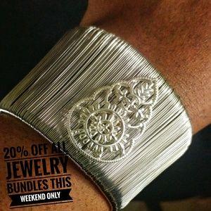 Jewelry - Ultra Chic Wired Cuff Statement Cuff Bracelet